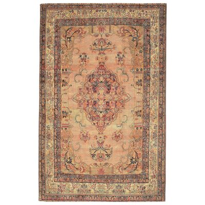 Astoria Kermin Blush Area Rug Rug Size: 18 x 26