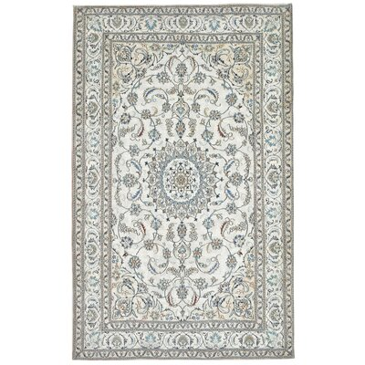 Astoria Nain White/Brown Area Rug Rug Size: 48 x 76