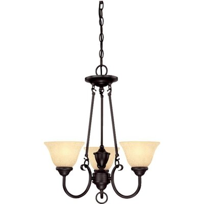 Almont 3-Light Shaded Chandelier