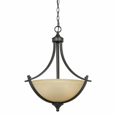Crofoot 3-Light Bowl Pendant
