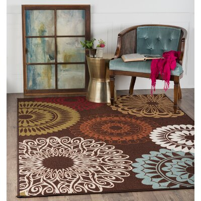 Dolan 3 Piece Brown/Beige Area Rug Set
