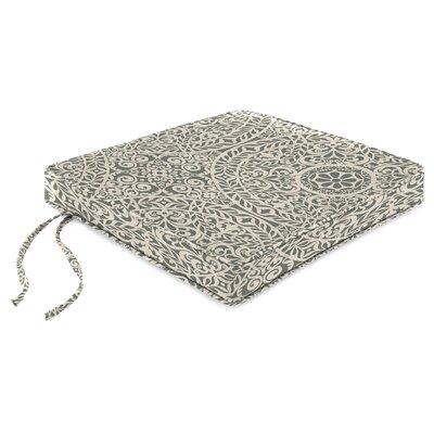 Indoor Chair Cushion Fabric: Tachenda Greystone