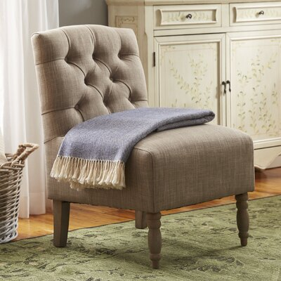 Roland Tufted Slipper Chair