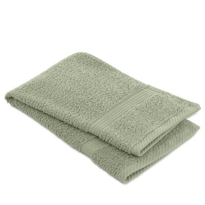 Elias Hand Towel Color: Basil