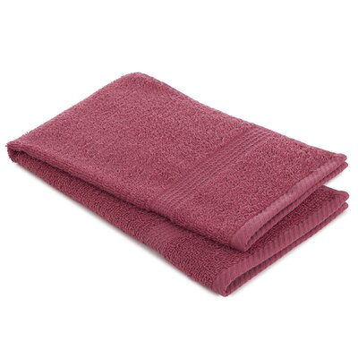 Liam Hand Towel Color: Soft Red