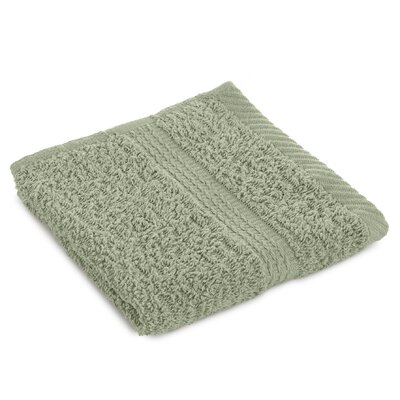 Liam Wash Cloth Color: Basil