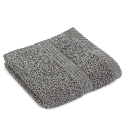 Liam Wash Cloth Color: Monument Gray
