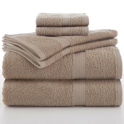 Elias 6 Piece Towel Set Color: Linen