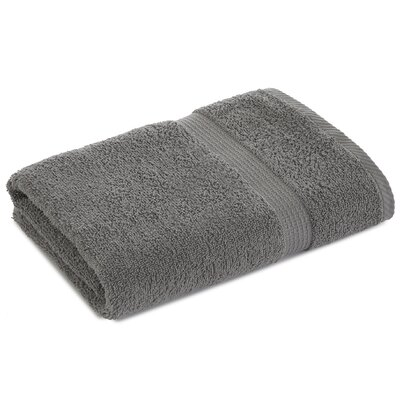 Liam Bath Towel Color: Monument Gray