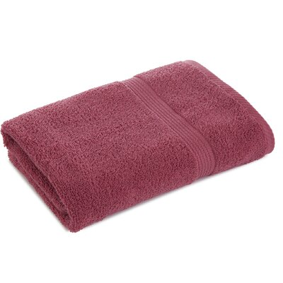 Liam Bath Towel Color: Soft Red
