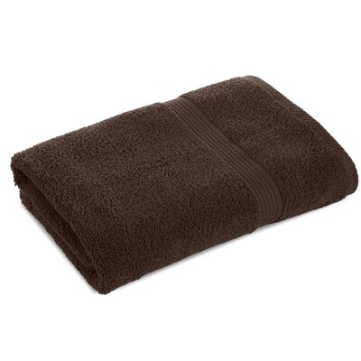 Elias Bath Towel Color: Demitasse