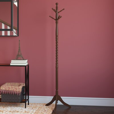 Twisted Center Coat Rack Finish: Espresso