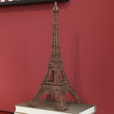 Buryngton Eiffel Tower Figurine Size: 15 H
