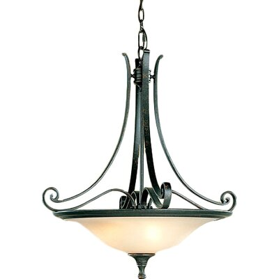 Farley 3-Light Inverted Pendant