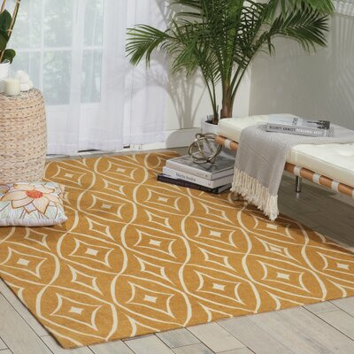 Argo Gold Area Rug Rug Size: Rectangle 8 x 10