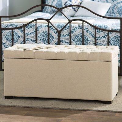 Taunton One Seat Wood Storage Bedroom Bench