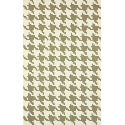 Medora Houndstooth Area Rug Rug Size: Rectangle 76 x 96