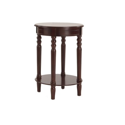 Gages Chairside Table Finish: Espresso