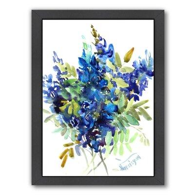 'Flowers' Acrylic Painting Print