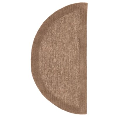 Dewsbury Hand-Tufted Brown Area Rug