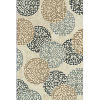 Morocco Ivory Area Rug Rug Size: Runner 2'2