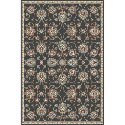 Morocco Anthracite Area Rug Rug Size: Rectangle 53 x 77