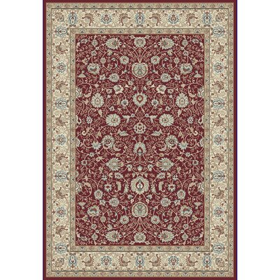 Morocco Red Area Rug Rug Size: 3'11