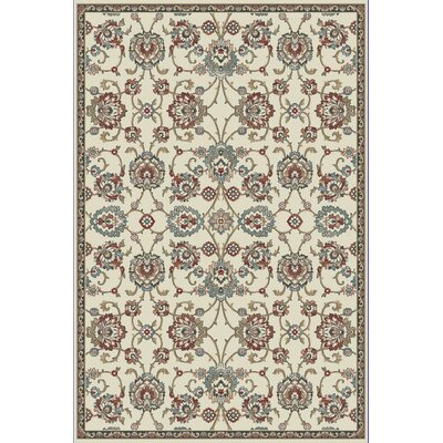 Morocco Ivory Area Rug Rug Size: Rectangle 92 x 1210