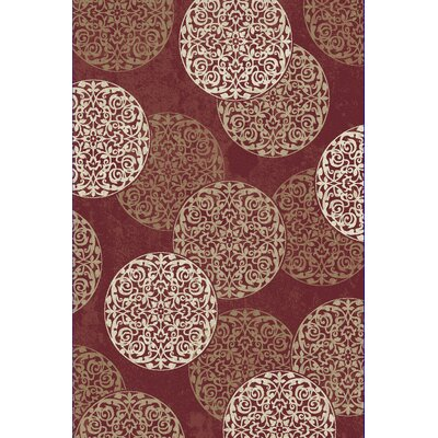 Morocco Red Area Rug Rug Size: Runner 22 x 1010
