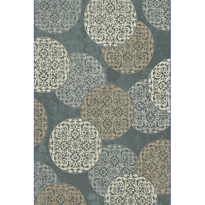 Morocco Blue Area Rug Rug Size: Runner 22 x 1010