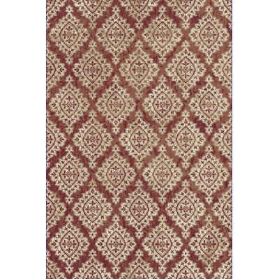 Morocco Terracotta/Ivory Area Rug Rug Size: 92 x 1210