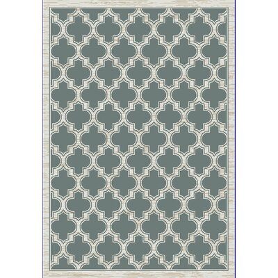 Mishawaka Green/Beige Area Rug Rug Size: Rectangle 53 x 77