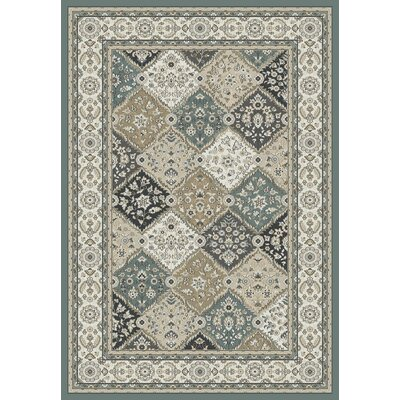 Mishawaka Gray/Beige Area Rug Rug Size: Rectangle 33 x 53