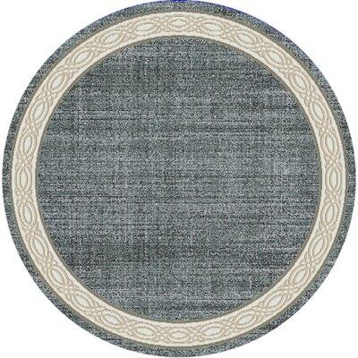Mishawaka Gray Area Rug Rug Size: Round 53