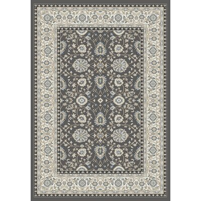 Mishawaka Gray/Beige Area Rug Rug Size: Rectangle 53 x 77