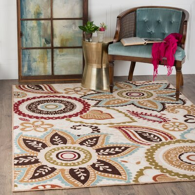 Dolan 3 Piece Cream Area Rug Set