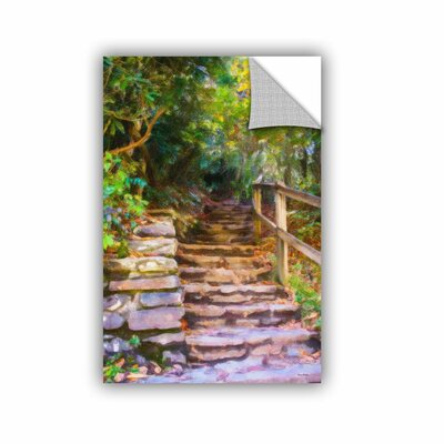 Redkey Rocky Steps Wall Mural Size: 12