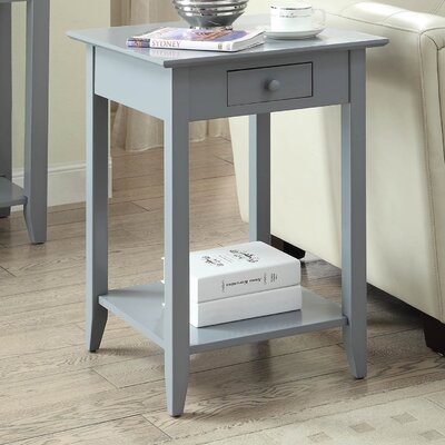 Greenspan End Table Color: Gray