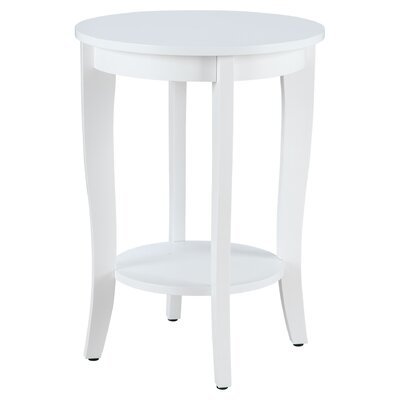 Williams Round Table Finish: White