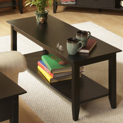 Williams Coffee Table Color: Black