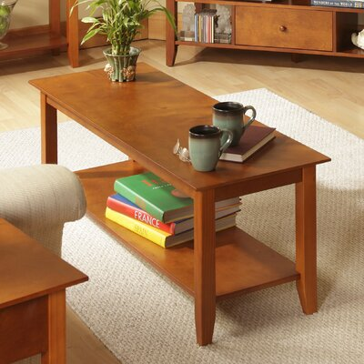 Williams Coffee Table Color: Cherry