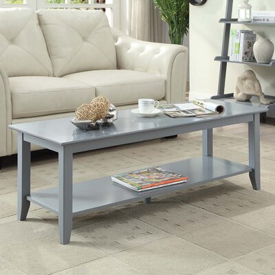 Williams Coffee Table Color: Gray