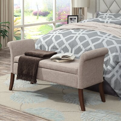 Suzanne Two Seat Storage Bench THPS2597 45680556