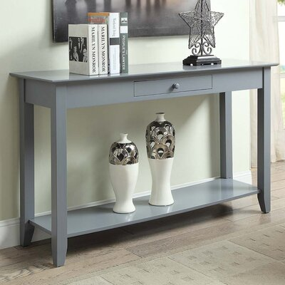 Greenspan Console Table Finish: Gray