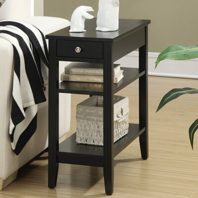 Greenspan End Table Color: Black