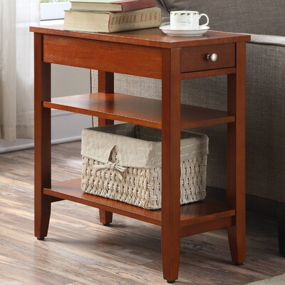 Greenspan End Table With Storage� Color: Cherry