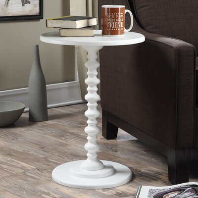 Segera End Table Color: White