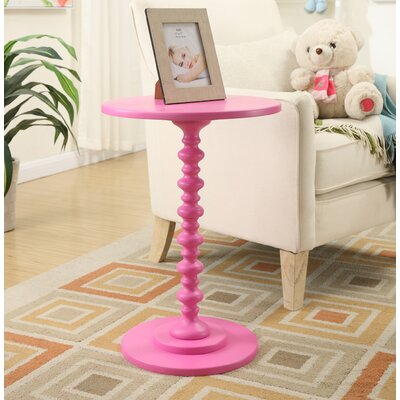 Segera End Table Finish: Pink