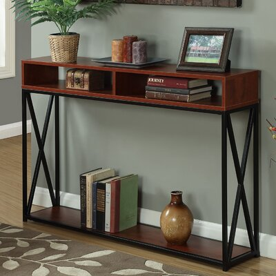Abbottsmoor Rectangle Console Table Finish: Cherry