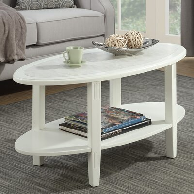 Versailles Coffee Table with Magazine Rack